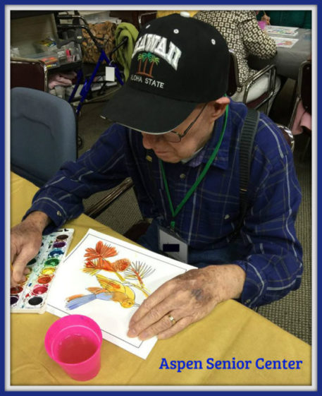 Art Therapy for Seniors with Alzheimer's and other Dementias