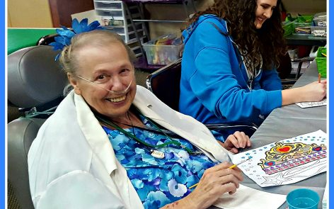 Carolyn loves attending Aspen Senior Day Center in Provo, Utah