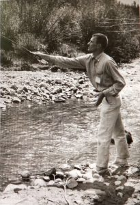 Bill - Fly Fishing 1960's