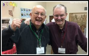 Larry and Stephen enjoy spending the day at Aspen Senior Day Center