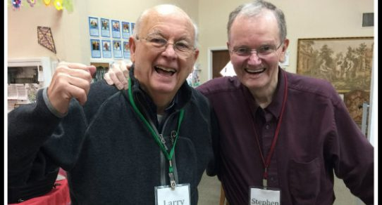 Larry and Stephen at Aspen Senior Day Center