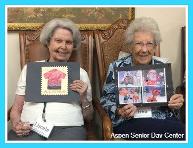 Fun art! Aspen Senior Day Center