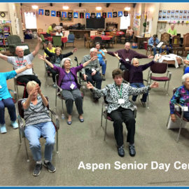 Sit and Dance at Aspen Senior Day Center