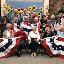 Veterans Day at Aspen Senior Day Center 2019