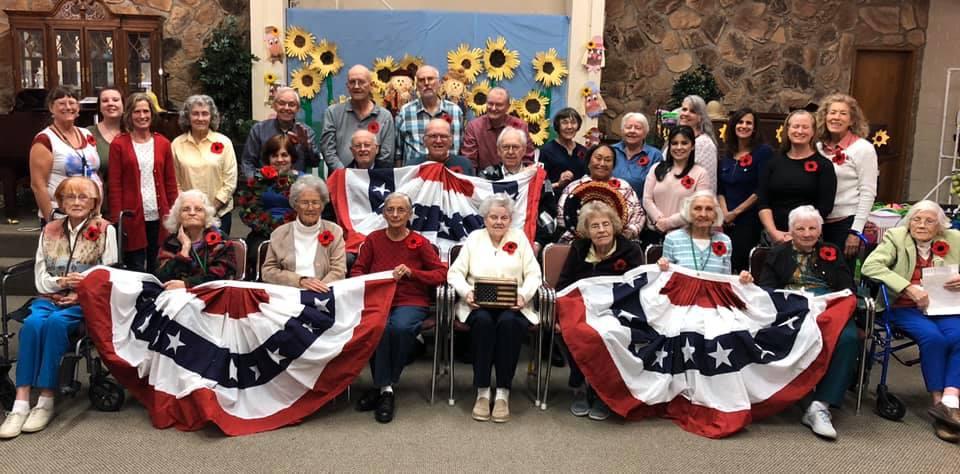 Veterans Day at Aspen Senior Day Center 2019