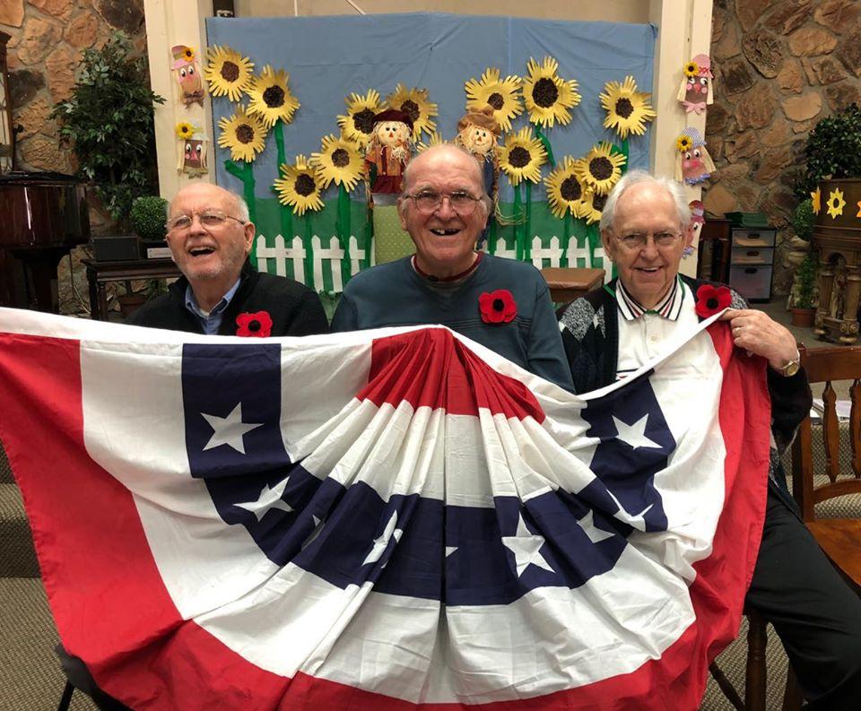 Veterans Day Gentlemen 2019